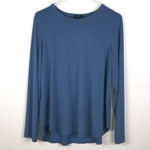 Eileen Fisher Long Sleeve High Liw Tee XL